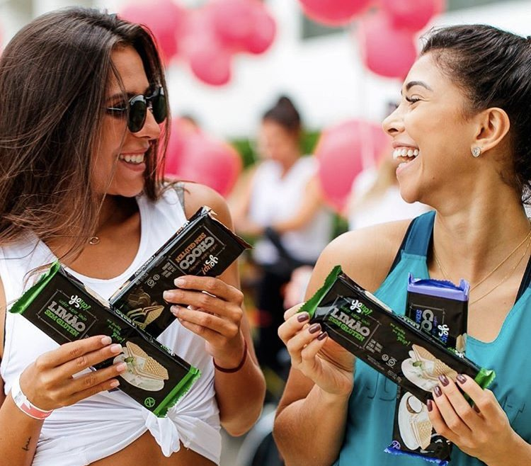 Waffer vegano sem glúten é sucesso entre as bloggers cariocas